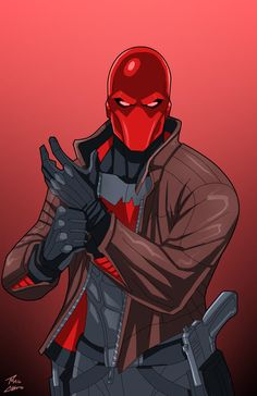 Red Hood commission by phil-cho on @DeviantArt