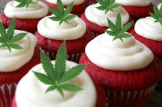Red Velvet Cannabis Cupcake Recipe. Does it get any better than this?   Hit www.Greenito.com to save on your shopping list!  Thanks to stupidDOPE for the recipe!