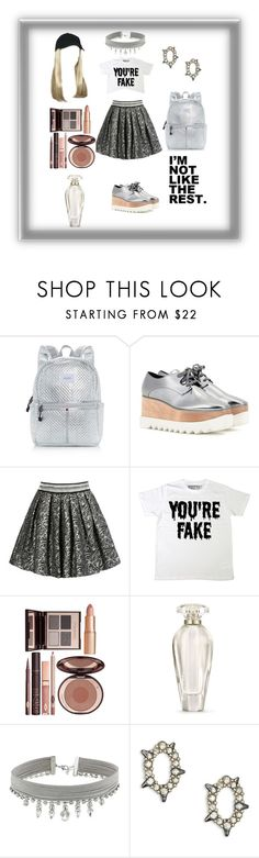 """Back To School If I Was 16"" by gigiglow ❤ liked on Polyvore featuring State, STELLA McCARTNEY, George J. Love, Charlotte Tilbury, Victoria's Secret, GUESS and Alexis Bittar"