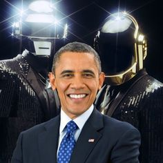 President Obama 'Sings' Daft Punk's 'Get Lucky'