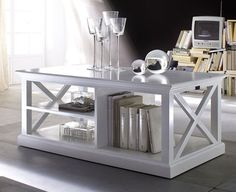 Coffee Table White - £678.00 - Hicks and Hicks