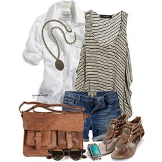 That top is on my wish list, along with the cute sandals:) Delicious outfit.
