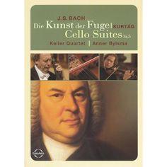 Bach: Die Kunst der Fuge/Cello Suites 1 & 5 - Keller Quartet/Anner Bylsma (dvd_video)
