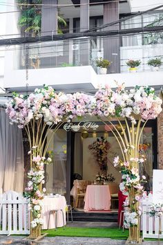 home decor decoration Wedding Gate, Order Of Wedding Ceremony, Indoor Wedding Ceremonies, Wedding Entrance, Entrance Decor, Wedding Stage Backdrop, Wedding Stage Design, Low Budget Wedding, Wedding Decorations On A Budget