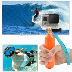 Go Pro Hand held Grip Bobber Floating Tripod Pole Mount for GoPro Hero 1 2 3 3+ 4 hero3 gopro-hero-3 black edition accessories