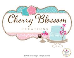 Custom logo including personalized by MyPrettySweetDesigns on Etsy, $250.00