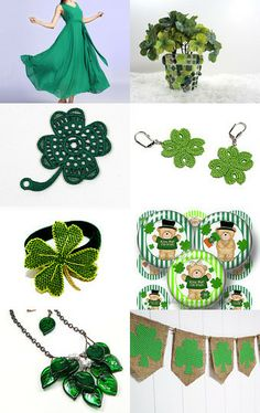 Shamrock by Efrat Kuvent on Etsy--Pinned with TreasuryPin.com