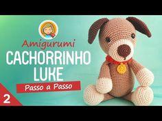 Puppy Luke - - Amigurumi Step by Step Love Games, Favorite Pastime, Cat Sleeping, Crochet Animals, Crochet Dolls, Bead Weaving, Pet Toys, Crochet Patterns, Teddy Bear
