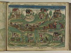 Artist: Unknown, Title: Bamberger Burgenbuch, Date: 1527, Page: 44