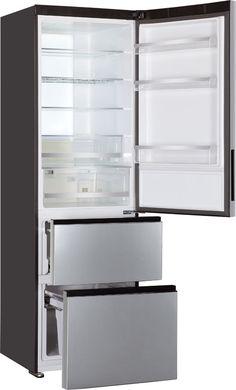 Temperatura y espacios a la carta con el frigorífico Combi 3D de Haier.