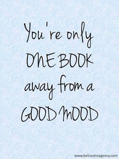 If you don't read books then you are missing out.