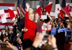 Clinton And Sanders (Almost) Victory Speeches