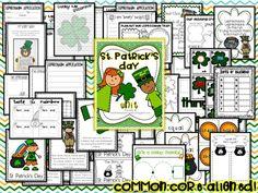 Core-aligned St. Patrick's Day Unit!
