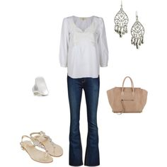 outfit, created by gwendelinyates on Polyvore