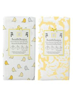 Marquisette Swaddle Blanket (Set of 2) by SwaddleDesigns on sale now on #Gilt.