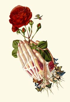 """forgiven"" anatomical collage art by Bedelgeuse"