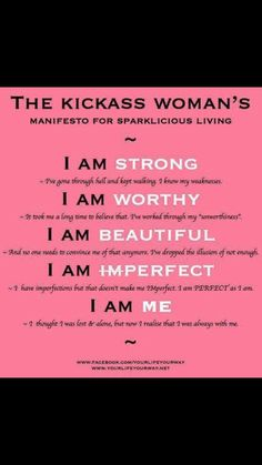 I am happy being me. You should be too!