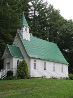 St. John the Baptist Episcopal Church ~ Vale Crucis, North Carolina