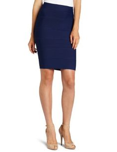 BCBGMAXAZRIA Women's Alexa Knitted Skirt BCBGMAXAZRIA. $126.54. Dry Clean Only. Made in China. 90% Rayon/9% Nylon/1% Spandex. High waist with stretch waist band. Fitted silhouette