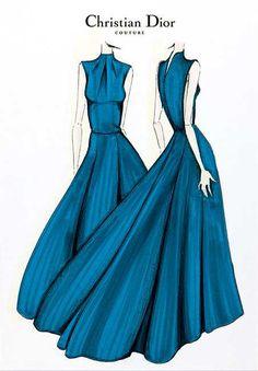Fashion Illustrations #fashion #illustrations #sketch #drawing #fashionsketch by #Dior