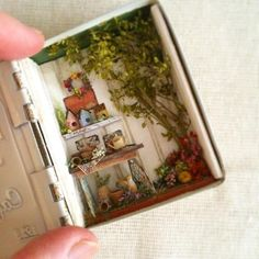 Wee Miniature Delight in a Tiny Box By cocostyle blog