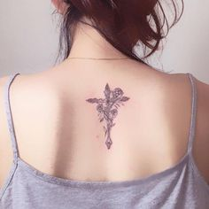 Simple cross tattoo designs are trending on social network. Here you will find best collection of cross tattoos for men & women. Cross Tattoo Designs, Tattoo Designs For Women, Get A Tattoo, Back Tattoo, Time Tattoos, Tattoos For Guys, Forearm Tattoos, Tribal Tattoos, Pretty Tattoos