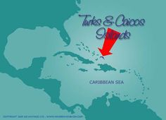 Turks and Caicos location in the Caribbean region - Turks and Caicos Vacation Rentals - Grace Bay Cottages www.gracebaycotta...