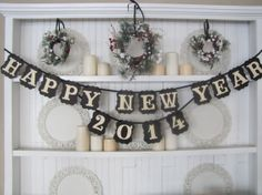 Happy New Year 2014 To My Friends by Joyce on Etsy