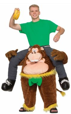 It's a Cool Monkeyin' Around Pull-On Pants Adult Costume. Illustrious range of Funny Riders Costumes for Halloween at PartyBell. Monkey Costumes, Baby Costumes, Funny Halloween Costumes, Halloween Gifts, Adult Costumes, Halloween Party, Adult Halloween, Halloween Alley, Halloween Forum
