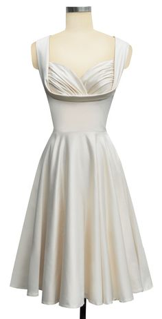 Bridal shower option? Honestly would prefer some fullness, but I do love this dress in green.