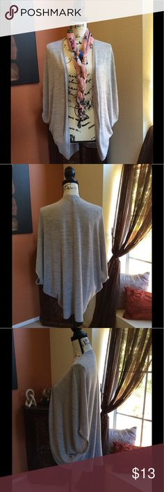 Old Navy Cocoon Style Vest Old Navy gray cocoon style vest, Size Large, lightweight material. EUC, Worn a handful of times. Old Navy Jackets & Coats Vests