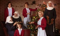 Call the Midwife Christmas episode: first look pictures Chummy, Trixie, Patsy and co are back this Christmas for a festive trip to Poplar