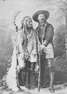 Buffalo Bill Cody with Sitting Bull