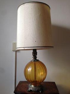 San Francisco: Vintage Mid-Century Glass Ball Lamp $50 - http://furnishlyst.com/listings/39637