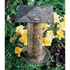 Off Verdigris 12 Inch Cardinal Bird Feeder by Whitehall Products. Finally a decorative feeder with function! Easy to fill, this aluminum cardinal tube feeder will give a lifetime of beauty to your yard or garden. It features a beautiful verdigris finish. Suet Bird Feeder, Bird Feeder Plans, Squirrel Feeder, Humming Bird Feeders, Bird Feeders For Sale, Glass Hummingbird Feeders, Homemade Bird Feeders, Whitehall Products, Cardinal Birds