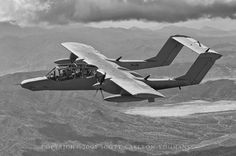 OV-10G in flight near Roosevelt Lake - 2005