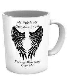 Wife Guardian Angel Mug