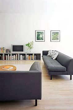 low sofa design marshmallow 2 in 1 flip open 31 best images modern lines media storage fernland and logan architects kid toy