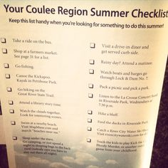 Summer Fun in the Coulee Region
