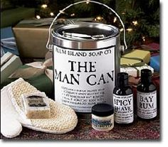 organic  english walnut butter   The Plum Island Soap Co. offers a full line of naturally scented soaps The Man Can includes:   1 Bar Manly Soap   1 Very Masculine Bay Rum Oil   1 Extremely Spicy Shave Gel   1 Really Scratchy Bath Mitt   1 Jar Fisherman's Hand Butter