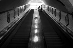 Antwerp Wooden Escalator by Nicky Leemreijze-Mosselman, via Flickr