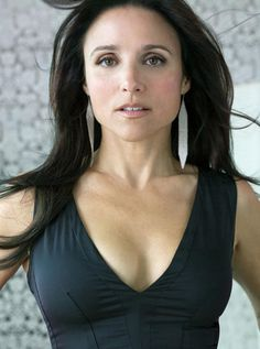 "Julia Louis Dreyfuss--always funny... loved her in Seinfeld and in ""Old Christine""  -- And this is a very becoming photo of her!"