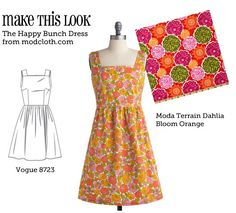 (via MTL: Happy Bunch Dress - The Sew Weekly Sewing Blog & Vintage Fashion Community)