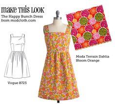 (via MTL: Happy Bunch Dress - The Sew Weekly Sewing Blog & Vintage Fashion Community)