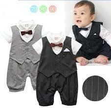 Cute One Piece Gentleman Romper Suit for Baby Boy Wedding Toddler Jumpsuit Infant Overall Summer Newborn Clothing Kids Clothes Baby Outfits, Outfits Niños, Body Suit Outfits, Outfits With Hats, Newborn Outfits, Toddler Outfits, Kids Outfits, Boy Newborn, Baby & Toddler Clothing