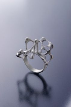 water drops ring by kas, Japan...I love this ring just cool and funky enough..