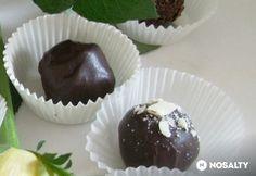Diós-aszalt sárgabarackos csokigolyó