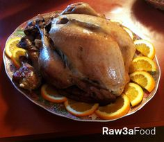 Turkey Cooked By Zmorod Garnem ~ Thanksgiving, Juicy, Roast, Food ~