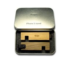 Stand for iPhone 5 by iKnarr on Etsy, $40.00