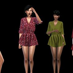 Leo 4 Sims: Romper • Sims 4 Downloads